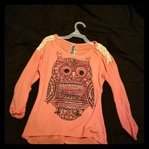 Other - Owl girls top